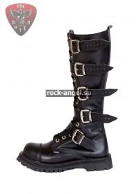Ботинки Ranger 16-ти блочные с пряжками и круглым носом