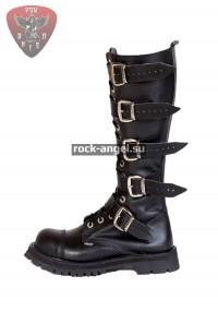 Ботинки Ranger 16-ти блочные с пряжками и круглым носом на молнии