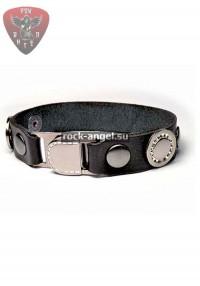 """Кожаный браслет """"Гламур 3"""""""