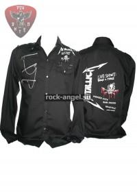 """Рубашка """"Metallica"""" с длинным рукавом"""