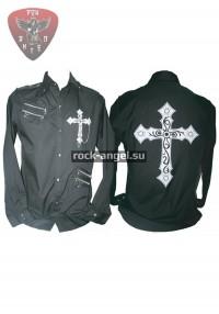 """Рубашка """"Крест"""" с длинным рукавом"""