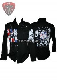 """Рубашка """"Sex Pistols"""" с длинным рукавом"""