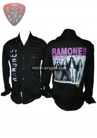 "Рубашка ""Ramones"" с длинным рукавом"