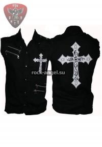 """Рубашка """"Крест"""" без рукавов"""