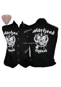 """Рубашка """"Motorhead - England"""" без рукавов"""