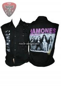 """Рубашка """"Ramones"""" без рукавов"""