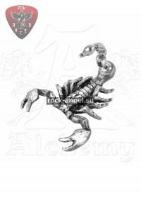 Шар в когтях дракона серьга-гвоздик