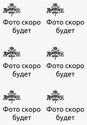 """""""Черный Георгин"""" заколка Alchemy Gothic"""