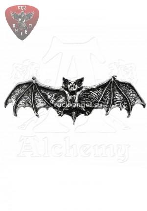 """Сумеречная мышь"" заколка Alchemy Gothic"