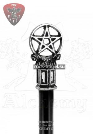 """Пентаграмма"" шпилька Alchemy Gothic"